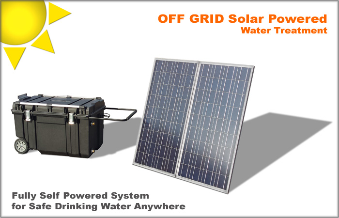 Off Grid Water Treatment System