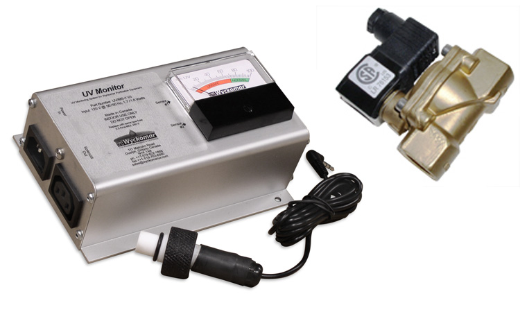 Monitor and Solenoid Valve